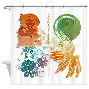 Dark Elf Shower Curtains