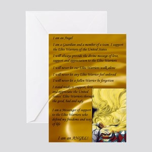 Angel Creed Greeting Card