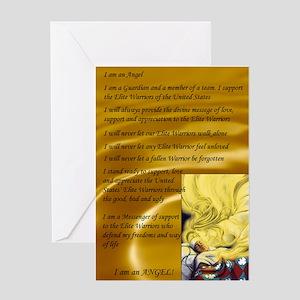 Angel Creed Greeting Card