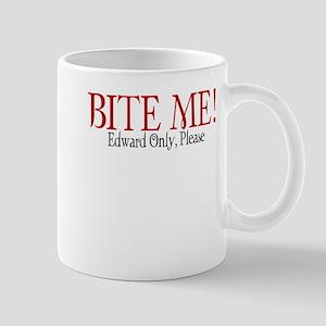 Bite Me - Edward Only Please Mug