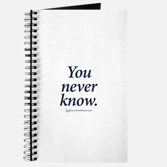 Cute Slogan Journal