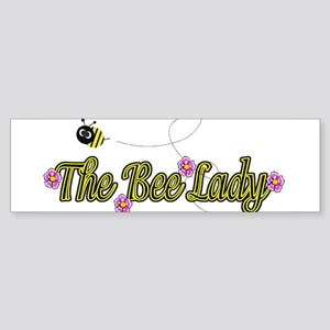 The Bee Lady Bumper Sticker