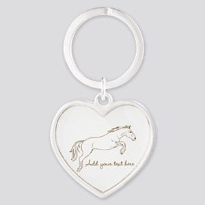 Horse Personalized Keychains