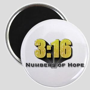 Numbers of Hope John 3:16 Magnet