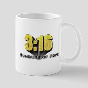 Numbers of Hope John 3:16 Mug