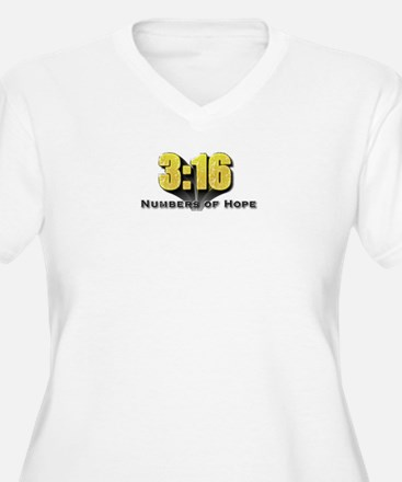 Numbers of Hope John 3:16 T-Shirt