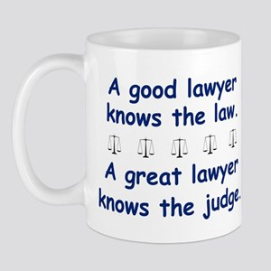 Good/Great Lawyer Mug