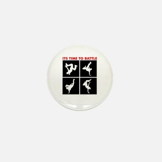 Breakdance Battle Mini Button