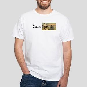 TOP Classic Baseball White T-Shirt