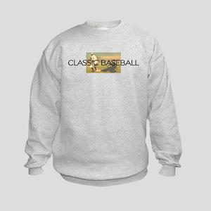 TOP Classic Baseball Kids Sweatshirt