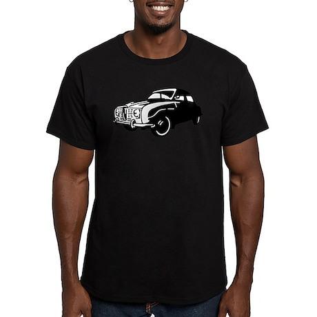 Classic Saab Men's Fitted T-Shirt (dark)