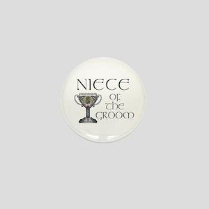 Celtic Niece of Groom Mini Button