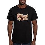 Whippet Mom Men's Fitted T-Shirt (dark)