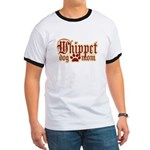 Whippet Mom Ringer T