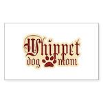 Whippet Mom Sticker (Rectangle 10 pk)