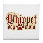 Whippet Mom Tile Coaster
