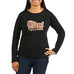 Whippet Mom Women's Long Sleeve Dark T-Shirt