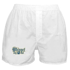 Whippet Dad Boxer Shorts