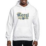 Corgi Dad Hooded Sweatshirt