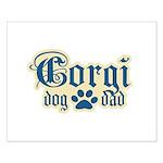 Corgi Dad Small Poster