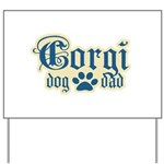 Corgi Dad Yard Sign