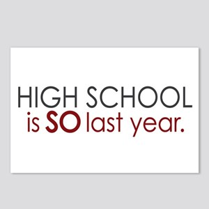 Funny High School Grad Postcards (Package of 8)