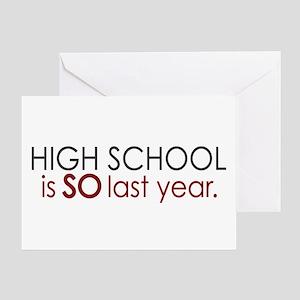 Funny High School Grad Greeting Card