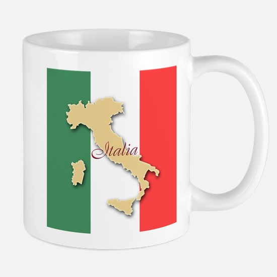 Italia (Italy Map) Mug