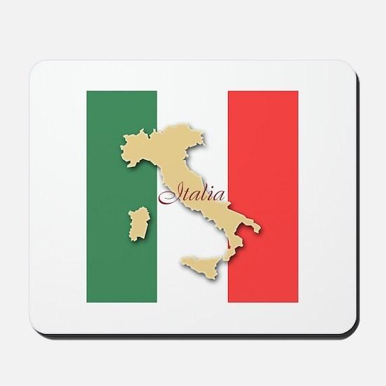Italia (Italy Map) Mousepad