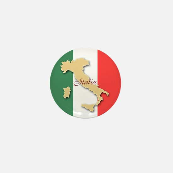 Italia (Italy Map) Mini Button