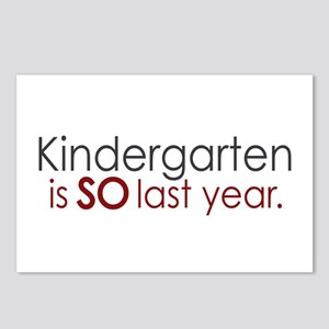 Funny Kindergarten Grad Postcards (Package of 8)