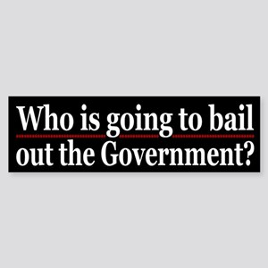 Who will bail out Govt?