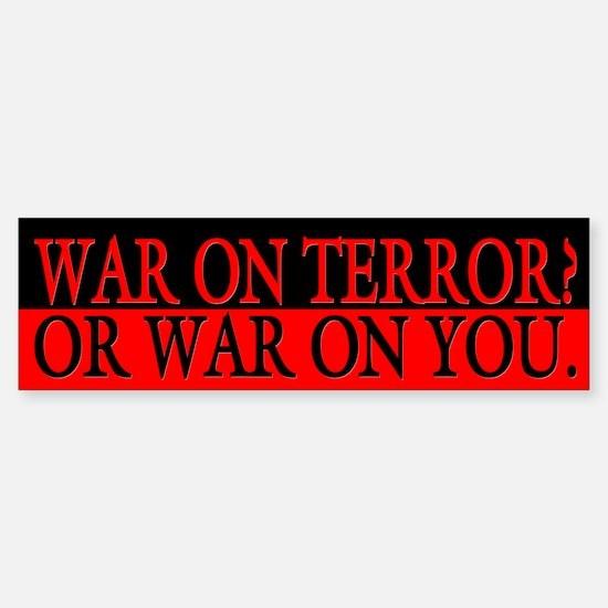 War On Terror Political