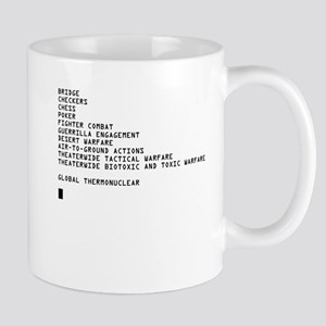 Global Thermonuclear War T-Sh Mug