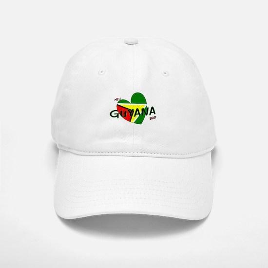 Meh love Guyana bad Baseball Baseball Cap