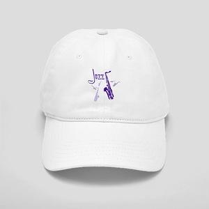 Jazz Saxophone Purple Cap