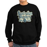 Australian Shepherd Dad Sweatshirt (dark)