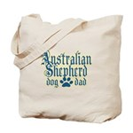 Australian Shepherd Dad Tote Bag