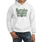 Australian Shepherd Dad Hooded Sweatshirt