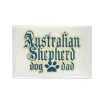 Australian Shepherd Dad Rectangle Magnet (100 pack