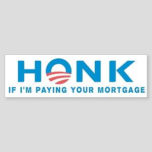 HONK... Anti Obama Bumper Sticker
