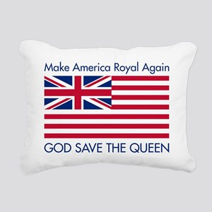 Make America Royal Again Rectangular Canvas Pillow