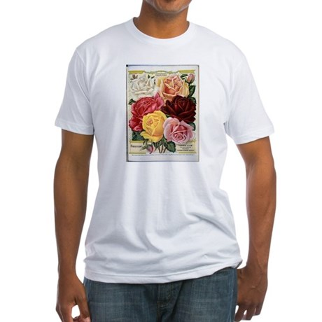 Henderson's Famous Roses Fitted T-Shirt