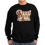 Great Dane Mom Sweatshirt (dark)