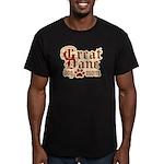 Great Dane Mom Men's Fitted T-Shirt (dark)