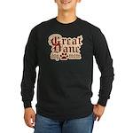 Great Dane Mom Long Sleeve Dark T-Shirt