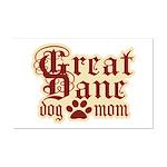 Great Dane Mom Mini Poster Print