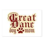 Great Dane Mom Postcards (Package of 8)