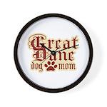 Great Dane Mom Wall Clock