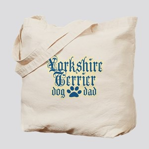 Yorkshire Terrier Dad Tote Bag